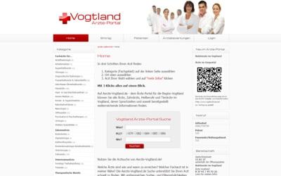 Portal Aerzte-Vogtland.de