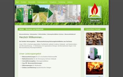 Biomasseheizung Sachsen