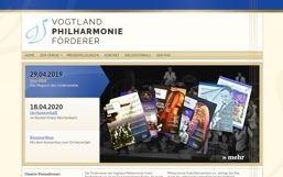 Förderverein Vogtland Philharmonie