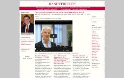 Handverlesen - Netzzeitung