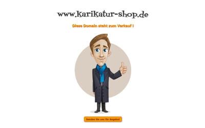 Karikatur-Shop