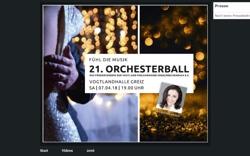 Orchesterball FV Vogtland Philharmonie