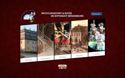 Recyclingkunst im Rittergut