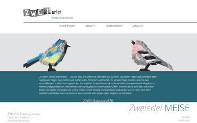 ZWEIerlei Werbung Schwarzenberg