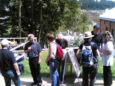 Besuch der Delegation aus Gießen auf der 5. Sächsischen Landesgartenschau 2009 in Reichenbach