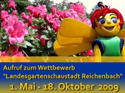 Aufruf zum Wettbewerb - Landesgartenschaustadt Reichenbach
