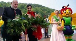 Eröffnungstag der Landesgartenschau
