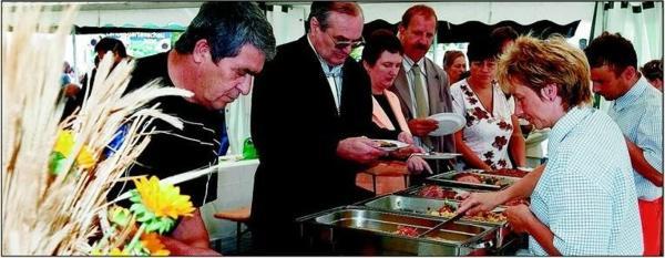 Festbuffet mit Fa. Uwe Schaller